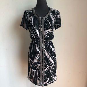 Alfani sz 8 cute geo print dress